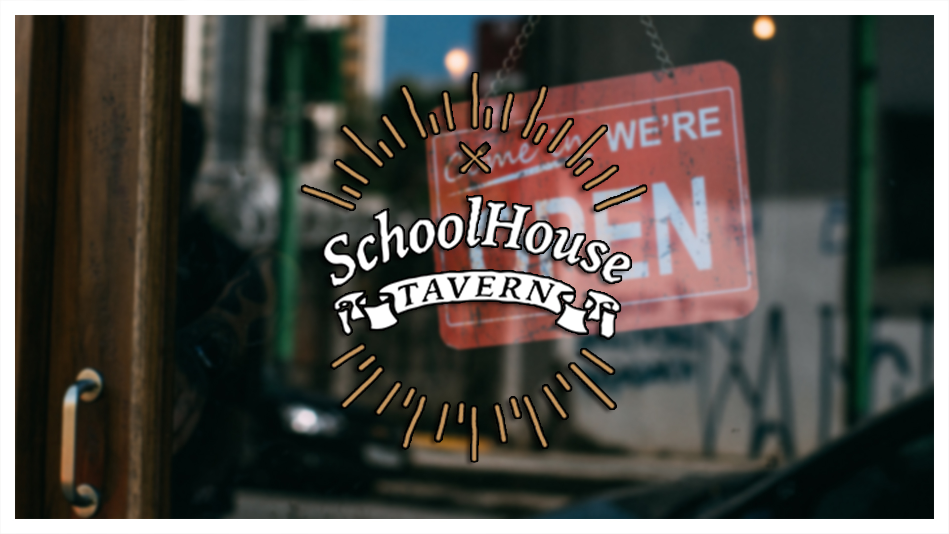 SchoolHouse Tavern - Open for Dine In or Take Out