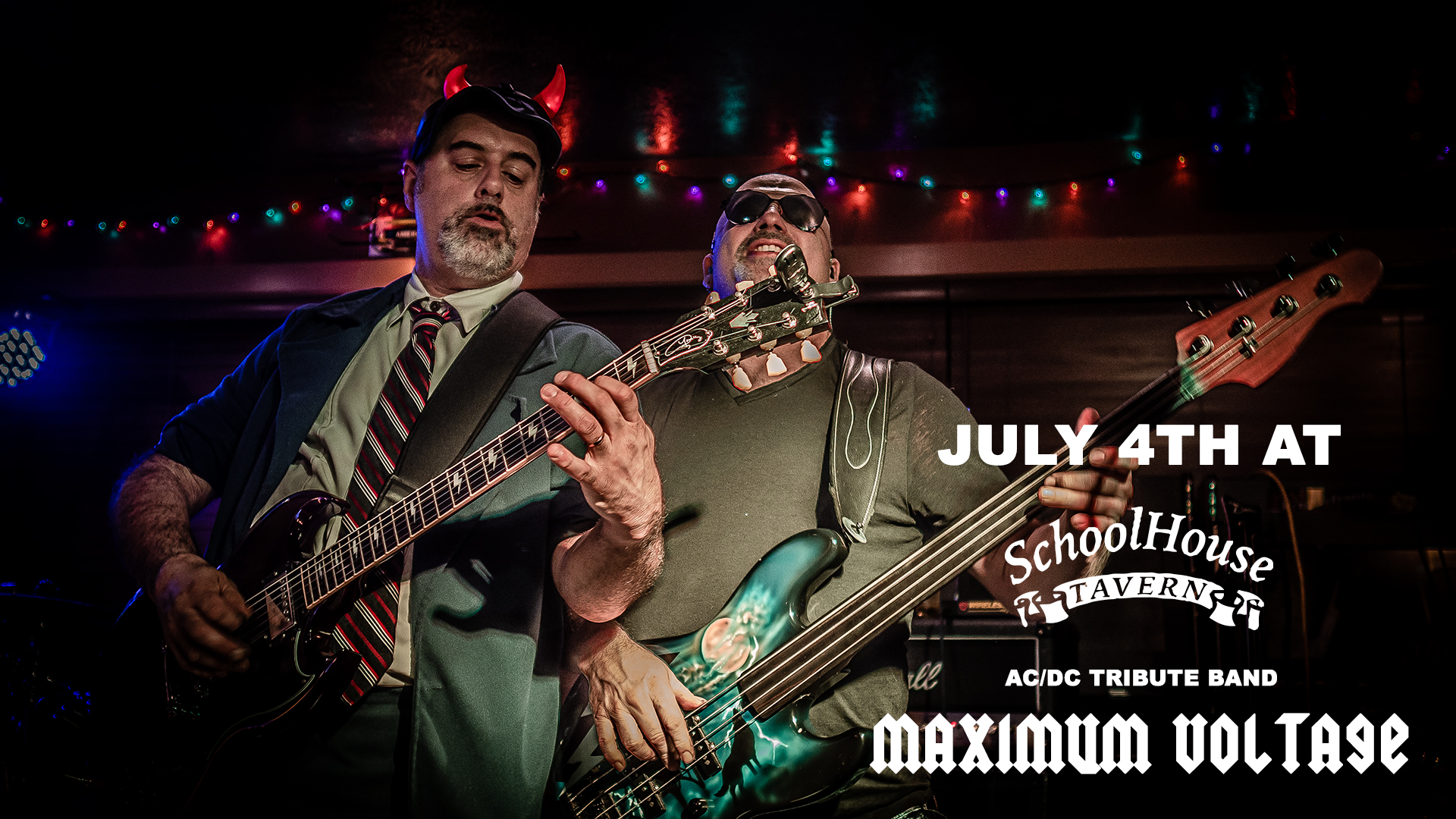 July 4th Party with Maximum Voltage